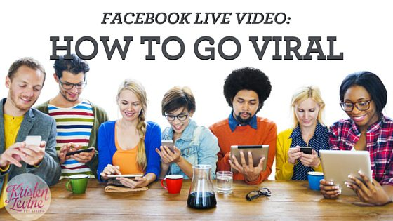 How to go viral on FB Live
