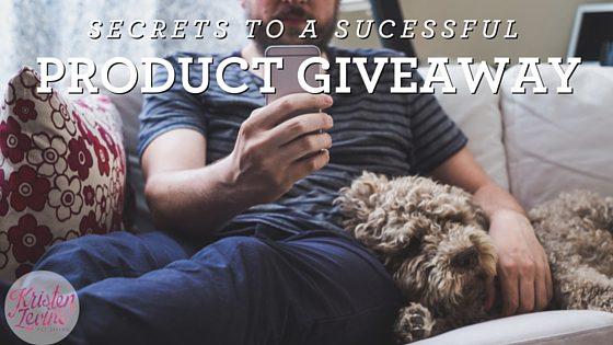 Secrets to Pet Product Giveaways