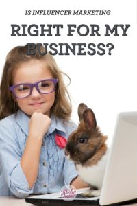 Is influencer marketing right for my pet business