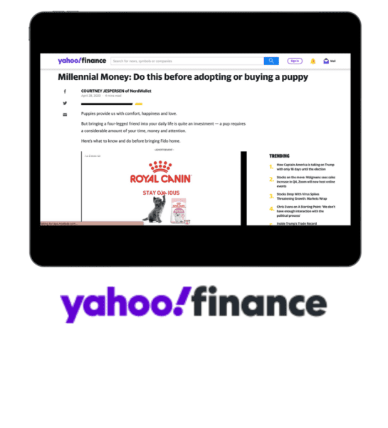 Yahoo Finance Millennials