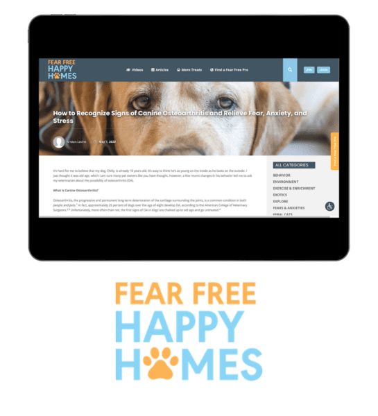 Fear Free Homes
