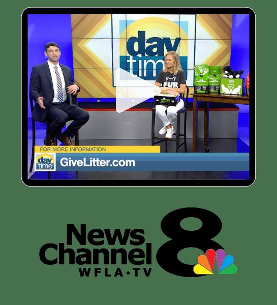 Kristen Levine GiveLitter ABC DayTime